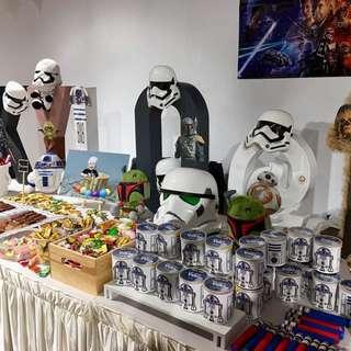 Star Wars Candy Buffet