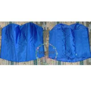 bustier satin tali / kebaya/ baju wanita/ fashion wanita/ kain kebaya/ butik