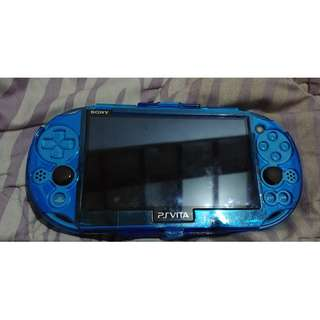 PS Vita Slim Aqua Blue jual cepat bosan