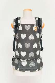 Baby Tula Full Toddler WC Carrier - Love Motif Noir