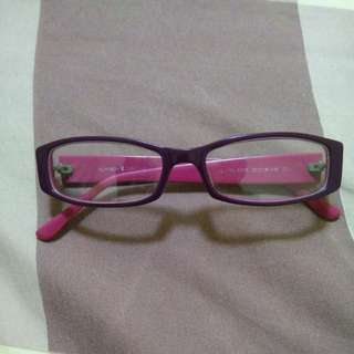 Purple spectacles / glasses