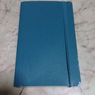 New Blue Moleskine Notebook