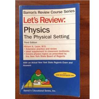 Barron's Review Course Series: Physics