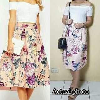 Crop Top+Skirt
