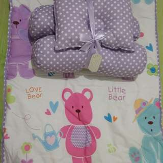 Perlak set plus bantal