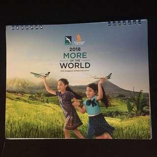 BN SIA 2018 calendar