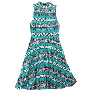 Topshop Aqua Dress