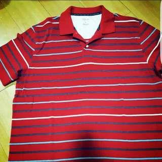 Arrow Striped Polo Shirt