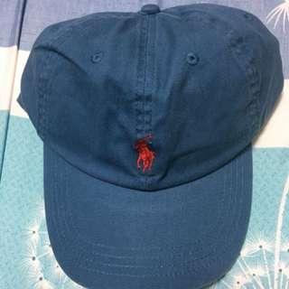 Polo水藍色老帽
