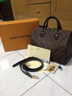 Louis Vuitton Speedy Bandou 30