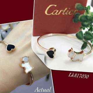 Cartier Love Dog Bangle