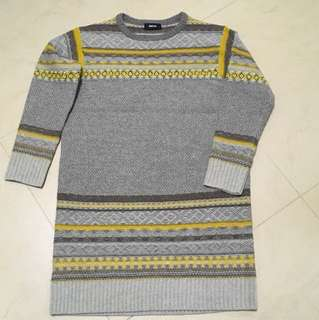 Flash sale ~ Zucca knitwear tunic dress