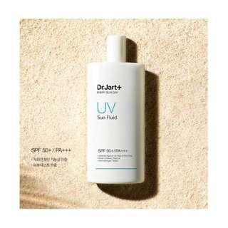 🆕 Dr Jart + ♠️♠️ Every Sun Day UV Sun Fluid Broad Spectrum SPF 50 100ml