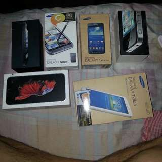 Samsung iphone box for salw