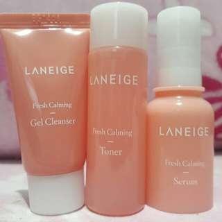 Laneige Calming Kit 3 items