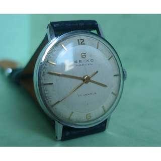 1957 vintage  SEIKO MARVEL  17 Jewels hand-winding watch , very good running.....