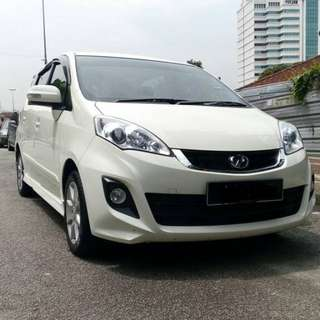 PERODUA ALZA 2015 1.5(A) FOR RENT