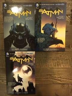 BATMAN comic books - Vol. 4-6 The New 52 - Zero Year: Secret City / Zero Year: Dark City / Graveyard Shift