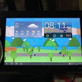SAMSUNG GALAXY TAB 10.1 WITH ACCESSORIES AND CASE