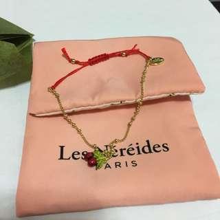 Les Nereides cherry bracelet