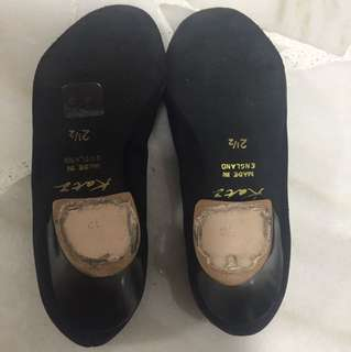 Ballet character shoes-size 2.5