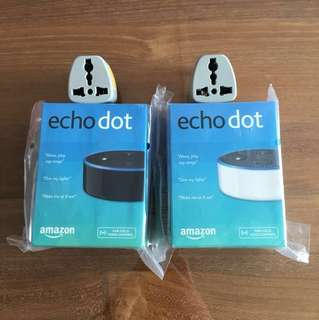 Amazon Echo Dot v.2 Brand new and sealed (left with Black!)