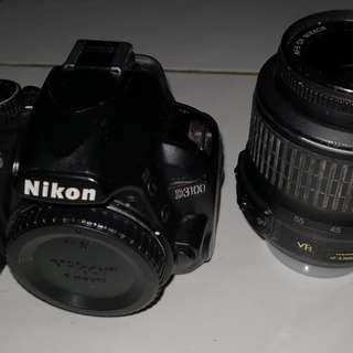 Used Nikon D3100 with accessories