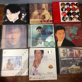 Andy Lau CDs ($15 each)