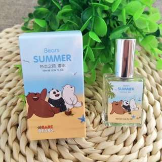 We bare bear love kiss perfume