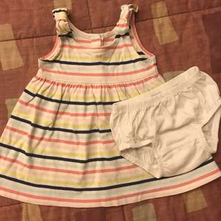 Baby Gap dress 0-3mos