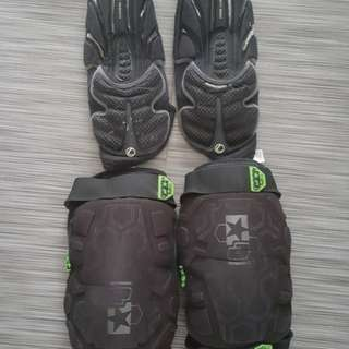 Knee guard & Elbow Guard Paintball gears