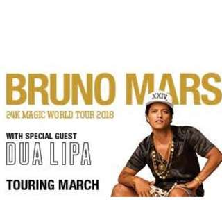 Bruno Mars 24k Magic Workd Tour SYD