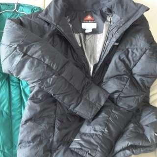 Columbia water resistance jacket women size 保暖防水外套