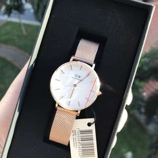 Daniel Wellington melrose white watch
