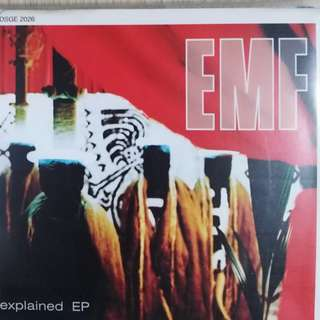 EMF explain EP, Original CD with Front & Back Cover Free Postage