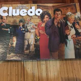 1996 Clue Classic Detective Game Parker Brothers - Original