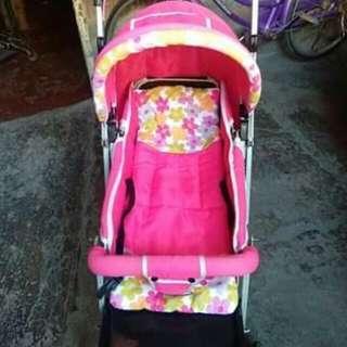 Pink Stroller for Baby Girl