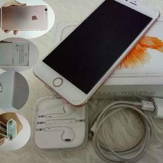Iphone 6 s+ atau 6 s plus dijual cepat dan murah