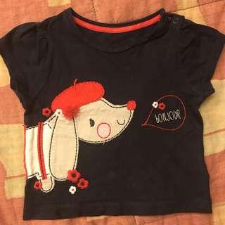 Mothercare shirt 6-9mos