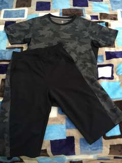 Airism Top and Shorts