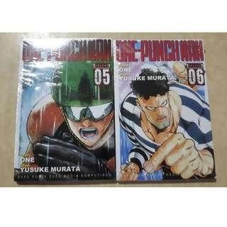 Komik One Punch Man 5, 6 Yusuke Murata
