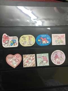 日本My Melody信銷郵票C11