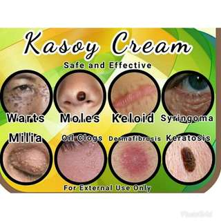 KASOY CREAM WITH CASTOR OIL