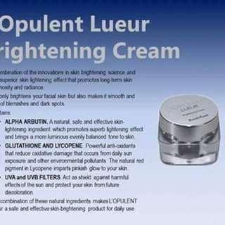 L opulent brightening cream