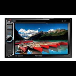 """Kenwood DDX1035 6.2"""" In Car Double Din DVD Stereo Receiver. Car Radio And Audio System"""