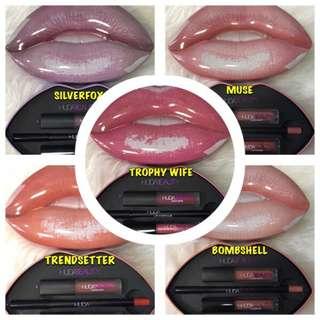 Huda beauty lip case set
