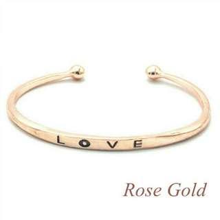 BN Rose Gold Cuff Bracelet