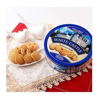 TORTO白色城堡奶油曲奇餅乾454g 馬來西亞 餅乾 零食 點心 酥餅 美食
