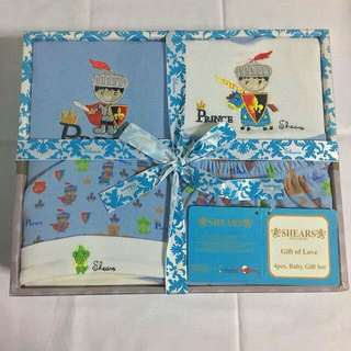 BN Shears Baby Boy Gift Set (4 Piece)