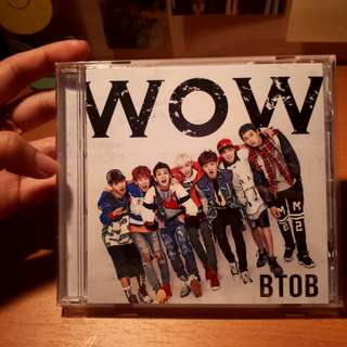 BTOB Japanese Debut Album: WOW (Normal Edition) with EK Photocard